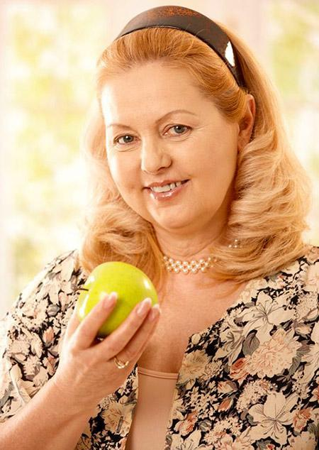 Woman Apple