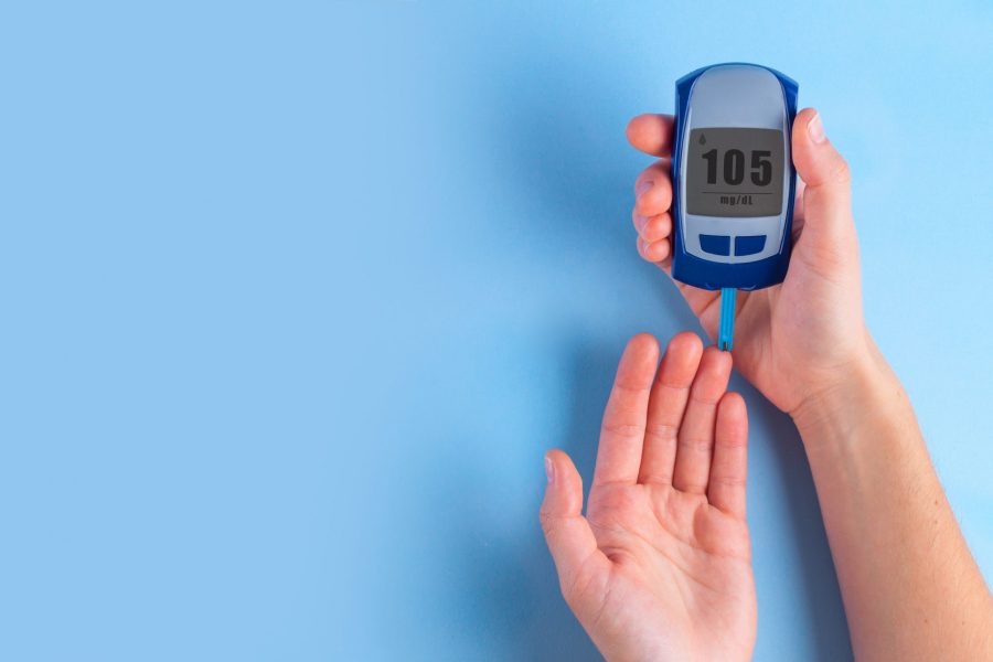 Blood sugar device for diabetes